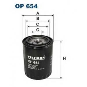 FILTRON OP654 Масляный фильтр