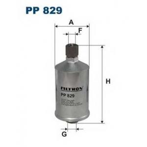 Топливный фильтр pp829 filtron - ALFA ROMEO 33 (905) Наклонная задняя часть 1.7 i.e. (905.A3D)