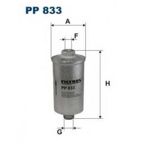 Топливный фильтр pp833 filtron - ALFA ROMEO 33 (907A) Наклонная задняя часть 1.4 i.e. (907.A3A, 907.A3B)