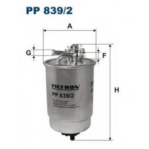 FILTRON PP 839/2 Топливный фильтр
