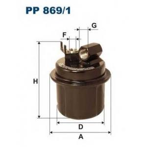 FILTRON PP8691 Топливный фильтр