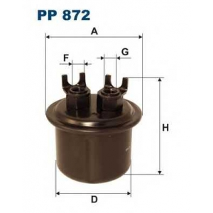 ��������� ������ pp872 filtron - HONDA CIVIC IV ����� (ED) ����� 1.6 i 16V (ED4)