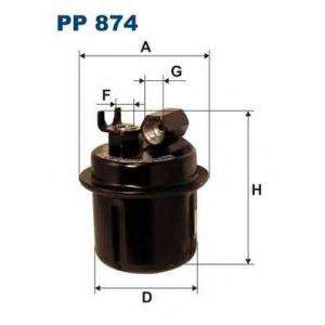 FILTRON PP874 Фильтр топливный