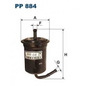 FILTRON PP884 Топливный фильтр