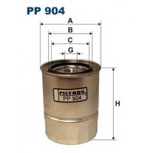 Топливный фильтр pp904 filtron - NISSAN SUNNY I (B11) седан 1.7 D