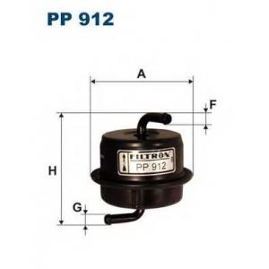 FILTRON PP912 Топливный фильтр
