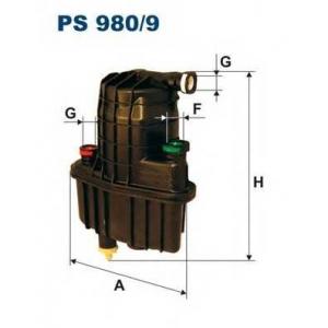 FILTRON PS9809 Фильтр топливный