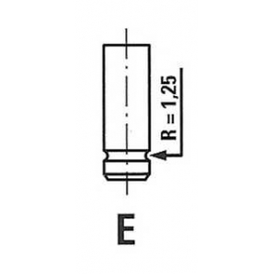 FRECCIA R3698/SCR Клапан впускний OPEL 3698/SCR IN