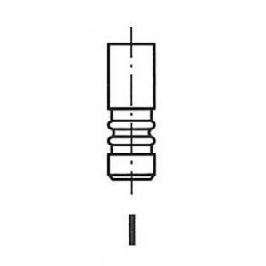 FRECCIA R4616/BMARCR Клапан випускний AUDI 4616/BMARCR EX