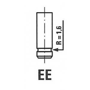 FRECCIA R6127/RNT Клапан випускний TOYOTA 6127/RNT EX