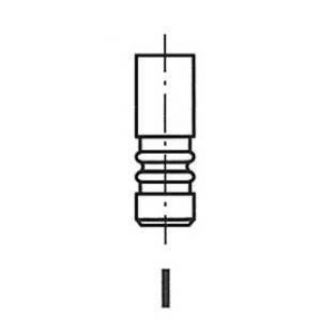 FRECCIA R6152/RCR Клапан выпускной Jumper/Boxer DJ5TED (37.8x7x115.4)