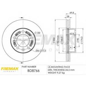 FREMAX BD-8766