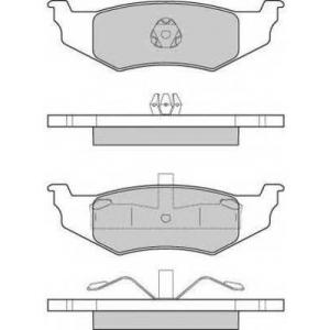 FREMAX FBP-1728 Комплект тормозных колодок, дисковый тормоз Крайслер Сайрус