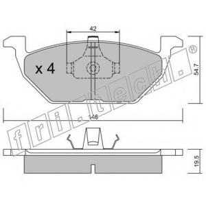 FRI.TECH 2200 Колодки тормозные дисковые, комплект