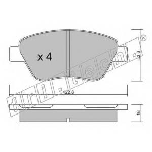 FRI.TECH 330.1 Колодки тормозные дисковые, комплект