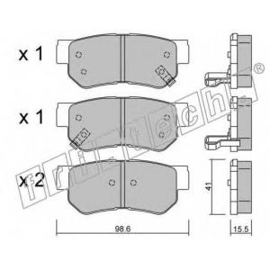 FRI.TECH 3740 Колодки тормозные дисковые, комплект
