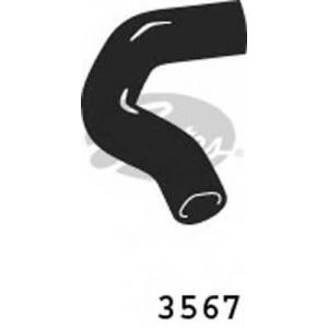 GATES 3567 Шланг радиатора