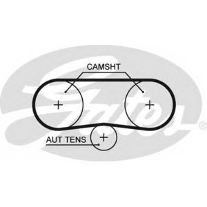 Ремень ГРМ 5516xs gates - VW POLO (6N1) Наклонная задняя часть 100 1.4 16V