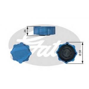 GATES RC214 Крышка, резервуар охлаждающей жидкости