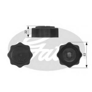 GATES RC229 Крышка, резервуар охлаждающей жидкости