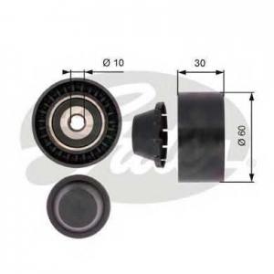 GATES T36380 Паразитный / ведущий ролик, поликлиновой ремен