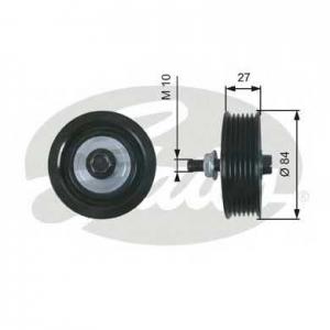 GATES t36602 Паразитный / ведущий ролик, поликлиновой ремень drivealign®