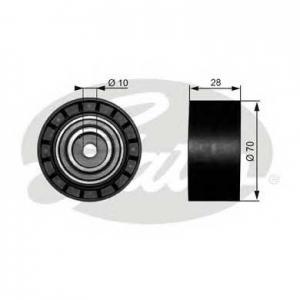 GATES T38073 Паразитный / ведущий ролик, поликлиновой ремен