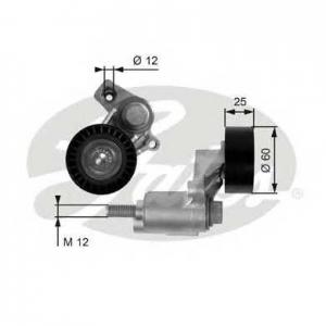 GATES T38235 Натяжной ролик, поликлиновой  ремень