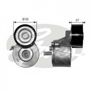 GATES T38371 Роликовий модуль натягувача ременя