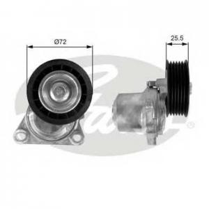Натяжной ролик, поликлиновой  ремень t38408 gates - MAZDA 6 Hatchback (GG) Наклонная задняя часть 1.8