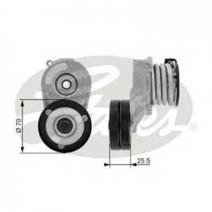 Натяжной ролик, поликлиновой  ремень t38432 gates - VAUXHALL MERIVA Mk I (A) вэн 1.7 DTI 16V
