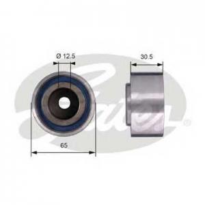 GATES T42061 Паразитный / ведущий ролик, поликлиновой ремен