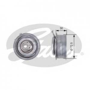 Натяжной ролик, ремень ГРМ t43010 gates - VW GOLF PLUS (5M1, 521) Наклонная задняя часть 1.6 BiFuel