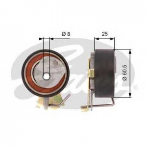 GATES T43023 T43023 (7784-21023)  Натяжний ролик ременя ГРМ GATES POWERGRIP TENSIONER