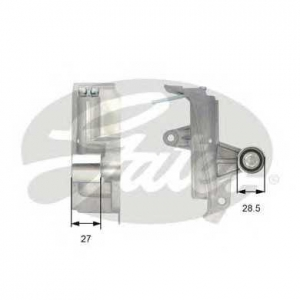 Успокоитель, зубчатый ремень t43028 gates - AUDI A4 (8D2, B5) седан 1.8 T