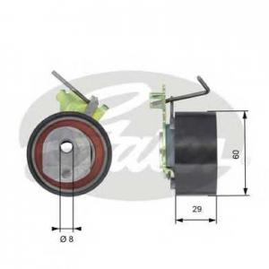 GATES T43088 Ролик модуля натягувача ременя