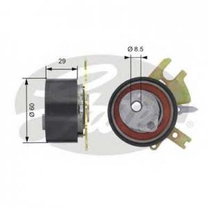 GATES T43089 Ролик модуля натягувача ременя
