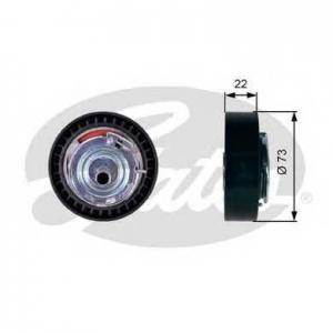 GATES T43225 Натяжной ролик, ремень ГРМ