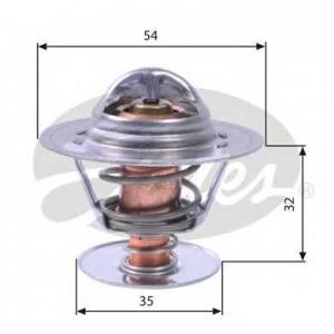 Термостат, охлаждающая жидкость th11292g1 gates - OPEL KADETT D (31_-34_, 41_-44_) Наклонная задняя часть 1.6 S