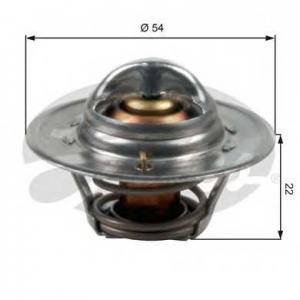 GATES TH12782G1 Термостат, охлаждающая жидкость