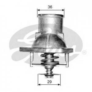 Термостат, охлаждающая жидкость th15182g1 gates - OPEL VECTRA A (86_, 87_) седан 1.6 i