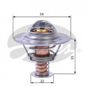 Термостат, охлаждающая жидкость th22689g1 gates - OPEL ASTRA H Van фургон 1.7 CDTI