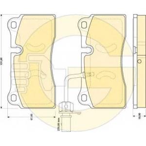 GIRLING 6117319 Комплект тормозных колодок, дисковый тормоз Ауди Р8