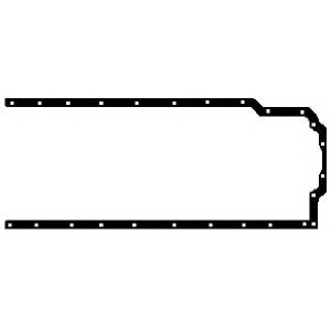 GLASER X00924-01 Oil sump gasket