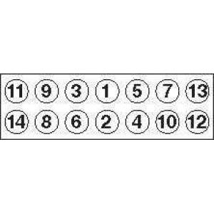 GOETZE 22-11003B Комплект болтов головки цилидра