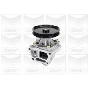 GRAF PA398 Water Pump with Backhousing