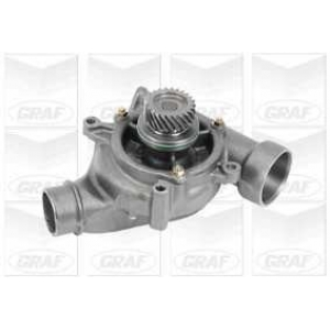 GRAF PA853 Water Pump with Backhousing
