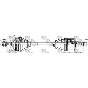 ��������� ��� 210016 gsp - PEUGEOT 806 (221) ��� 2.0 Turbo