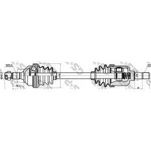��������� ��� 210163 gsp - CITRO?N XSARA (N1) ��������� ������ ����� 2.0 16V