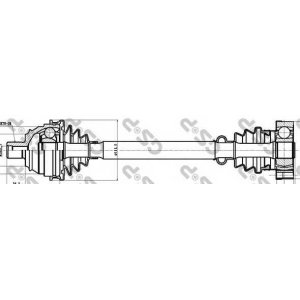 ��������� ��� 261003 gsp - VW TRANSPORTER IV ������� (70XB, 70XC, 7DB, 7DW) ������� 2.5
